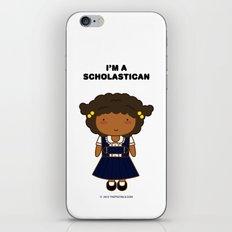 I'm A Scholastican iPhone & iPod Skin
