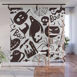 halloween pattern ii Wall Mural