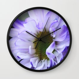 Purple Rush Wall Clock