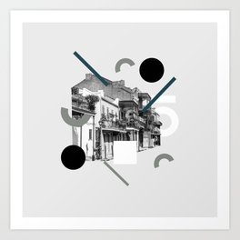 Domio Collage Residential Collage Art Print