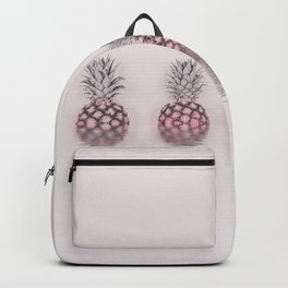 Pink Pineapple In The Water Backpack