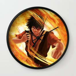 The fire lord Wall Clock