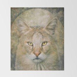 The Hunter Cat Throw Blanket