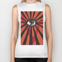 movie posters Biker Tanks featuring Vendetta Alternative movie poster by Sassan Filsoof