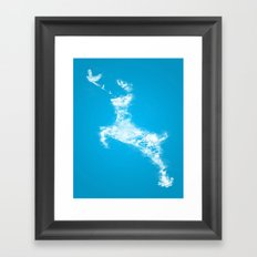 In Search Of Peace Framed Art Print