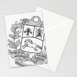 Escudo Venezuela - Trinchera Creativa Stationery Cards