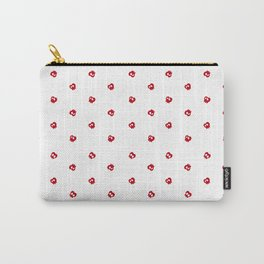 White Apples Carry-All Pouch