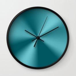 Tel-green metallic stainless steel print Wall Clock