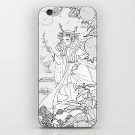 Autumn Queen iPhone Skin