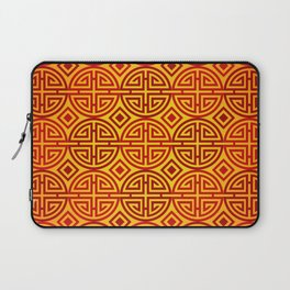 Chinese red gold 1 Laptop Sleeve