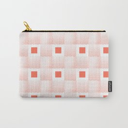 Rachel's Wavy Coral Pattern Carry-All Pouch