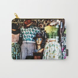 Vintage Fashion Carry-All Pouch