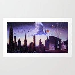 The route of Talanak Art Print