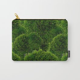 Moss - Green Luscious Mossy Texture - Full on Natural Moss Mounds- Earthy Greens -Turning Moss Green Carry-All Pouch