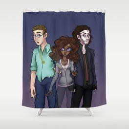 This is Awkward Shower Curtain