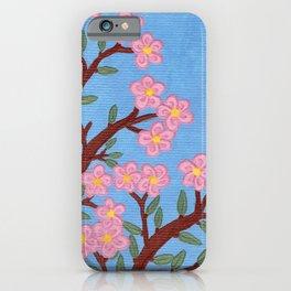 Large Cherry Tree 1b iPhone Case