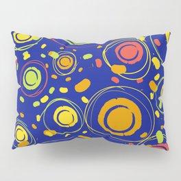 Patio lanterns Navy Pillow Sham