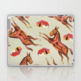 Kitsch Leaping Ponys Laptop & iPad Skin