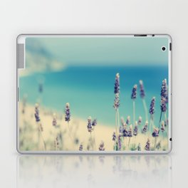 beach - lavender blues Laptop & iPad Skin