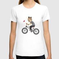 cycling T-shirts featuring Mr.Bongo Cycling by Gunawan Lo