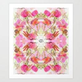 A Flower in a Flower Art Print