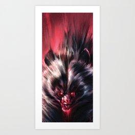 Beware the Werebear! Art Print