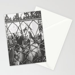 Skull Fence of New Orleans Stationery Cards