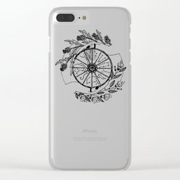 The Wheel of Fortune Clear iPhone Case