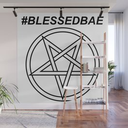 #BLESSEDBAE INVERTED INVERSE Wall Mural