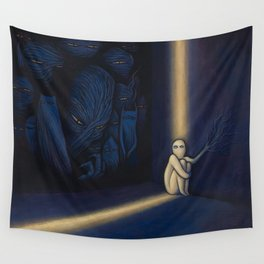 Dark Side Of Me Wall Tapestry