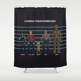 Choose Your Guardian Shower Curtain
