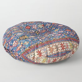 Daghestan East Caucasus  Antique Rug Floor Pillow