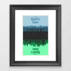 Futurama - Bender's Game Framed Art Print