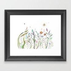 La Primavera Framed Art Print