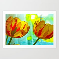 Inside And Out Art Print
