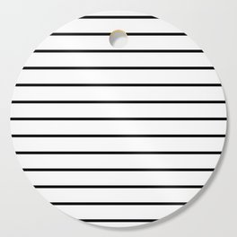 Minimalist Stripes Cutting Board