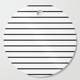 Minimalist Stripes Cutting Board