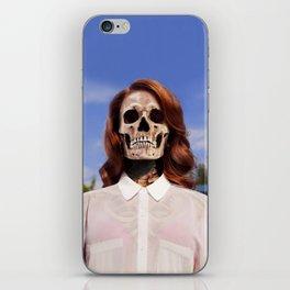 Bones To Die iPhone Skin