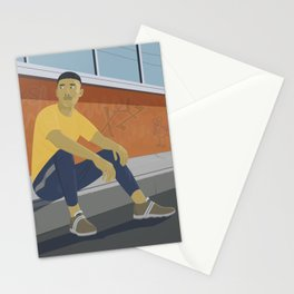 Waiting (for the great leap forwards) Stationery Cards