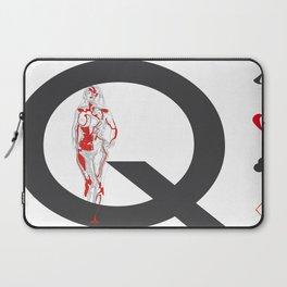 Queen of Diamonds Laptop Sleeve