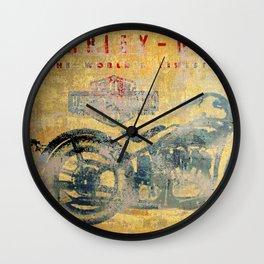 HD - Vintage Motorcycle Wall Clock