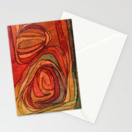 Gravitational spin Stationery Cards