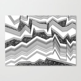 up-down Canvas Print