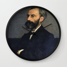 Jules Bastien-Lepage - Andre Theuriet Wall Clock