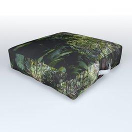 Hidden Jungle River Outdoor Floor Cushion