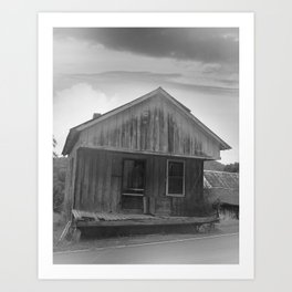 The Good Old Shack Art Print