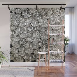 Flying Popcorns Wall Mural