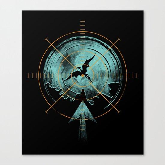 the last predator Canvas Print