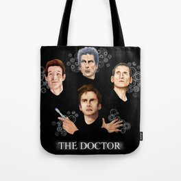 9th 10th 11th and 12th Doctor Tote Bag