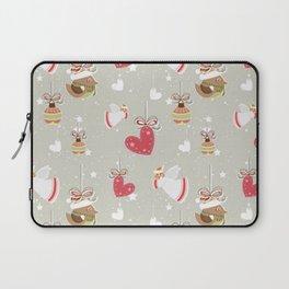 Christmas Elements Design Pattern 2 Laptop Sleeve
